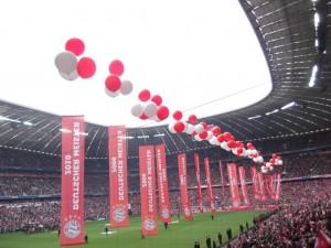 Meisterfeier gegen Augsburg 2013-2