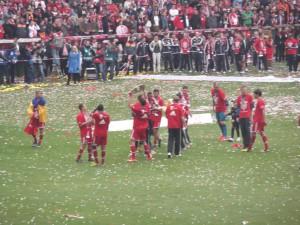 Meisterfeier gegen Augsburg 2013-4