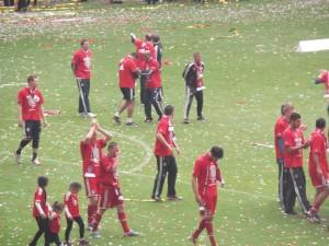 Meisterfeier gegen Augsburg 2013-5